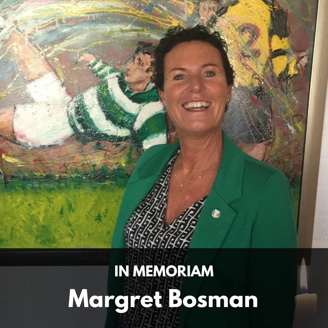 IN MEMORIAM MARGRET BOSMAN-HILHORST