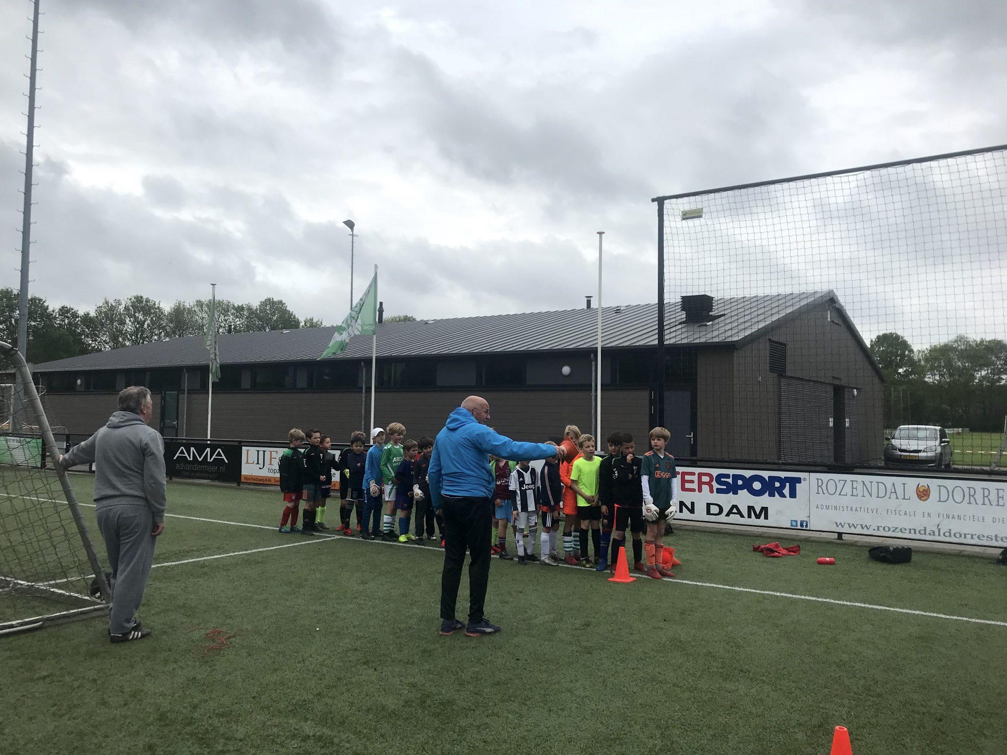 Trainingen voor jongste jeugd weer hervat!