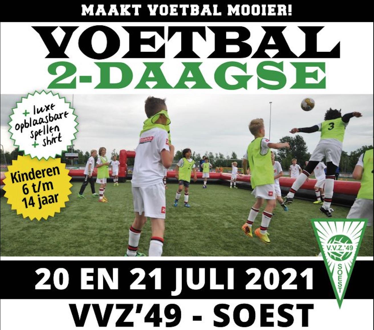 Tweedaags voetbalkamp bij VVZ '49